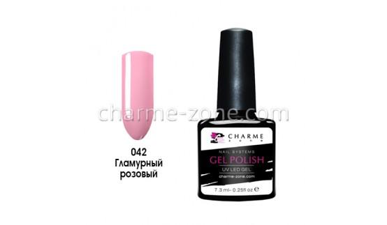 Гель-лак 042 гламурный розовый