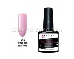 Гель-лак 043 розовая пастель