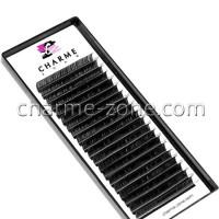 MIX чёрных ресниц Charme Zone Econom от 7 до 13 мм